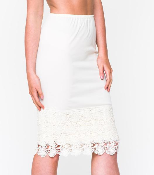 Floral Lace Skirt Extender