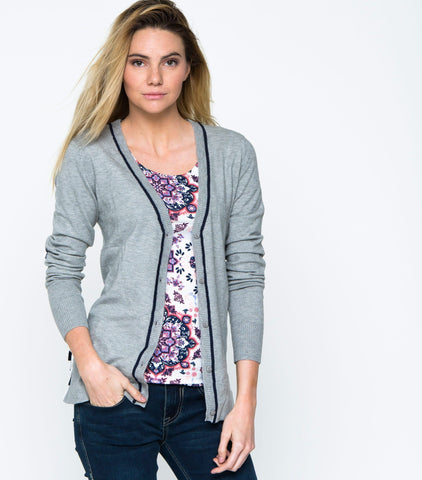 Perfect Potential Cardi - Heather Gray