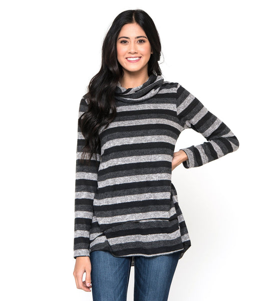 Striped Tunic Sweater
