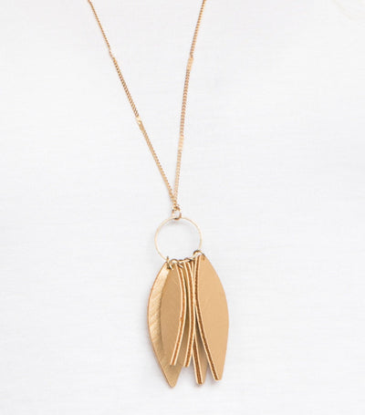 Leaf Loop Necklace
