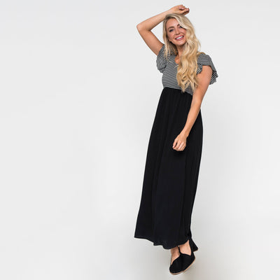 Make it to the Top Maxi Dress