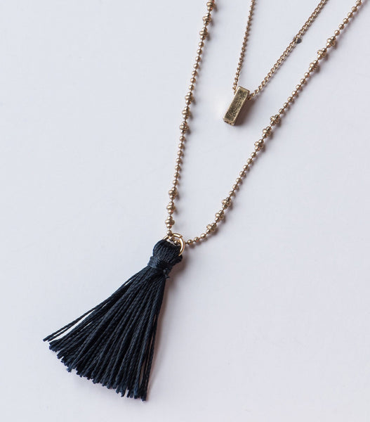 Navy Glow Necklace