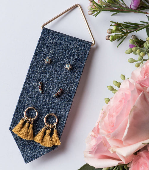 Triple Tassel Earring Set