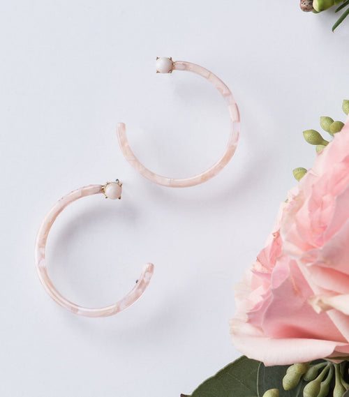 Ring Around the Rosie Hoops