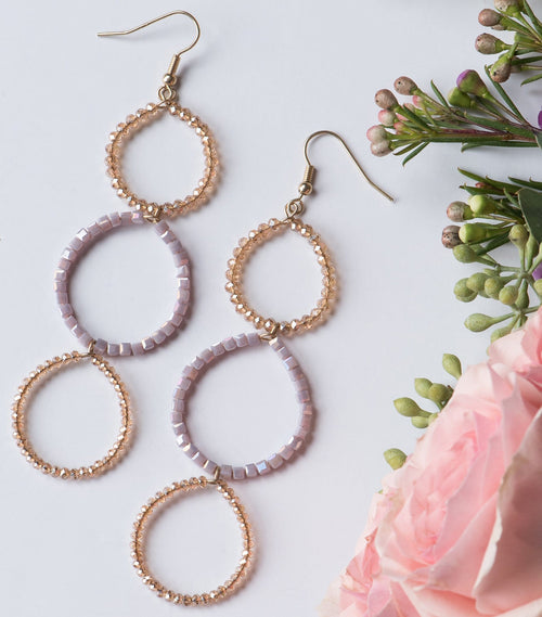 Layered Lasso Earrings