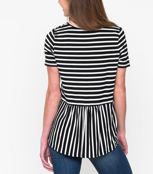Stripe Surprise Top