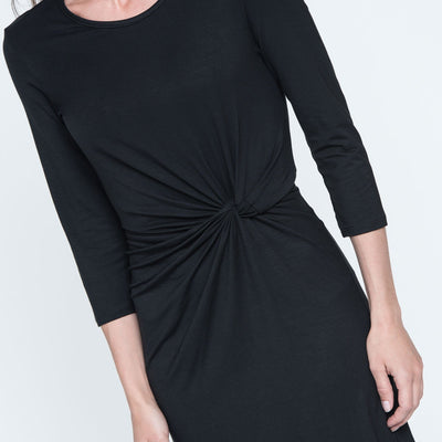 Knot Your Average Black Dress