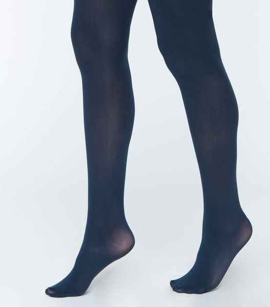 Solid Basic Opaque Tights
