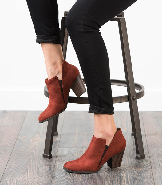 Coin Ankle Boot