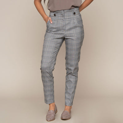 Glen Plaid Pant