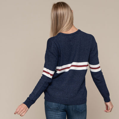 Chest Stripe Sweater