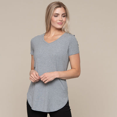 Everyday Ribbed Tunic