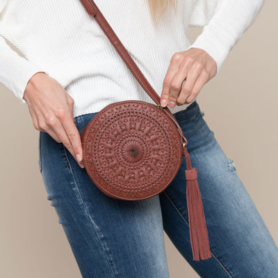 Whipstitch Crossbody Bag by Street Level