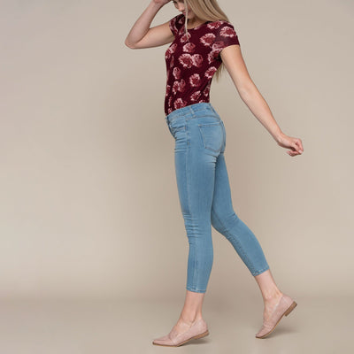 Light Wash Soft Skinny