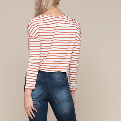 Shirred Shoulder Top