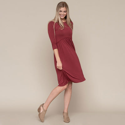 Circle Lace Trim Dress