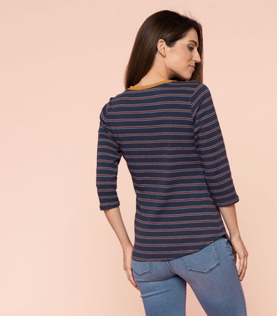 Ringer Stripe Top