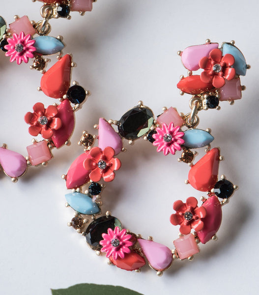 Beaucoup Bouquet Earrings