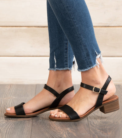 Courtney Low Heel Sandal
