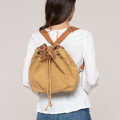 Drawstring Canvas Bag by Street Level