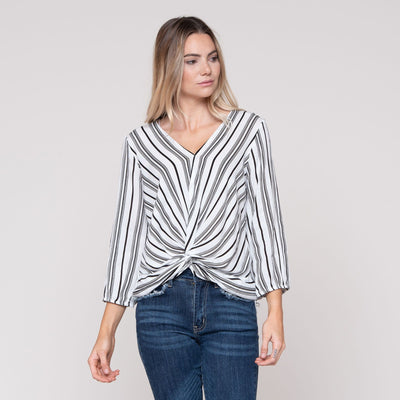 City Stripe Top