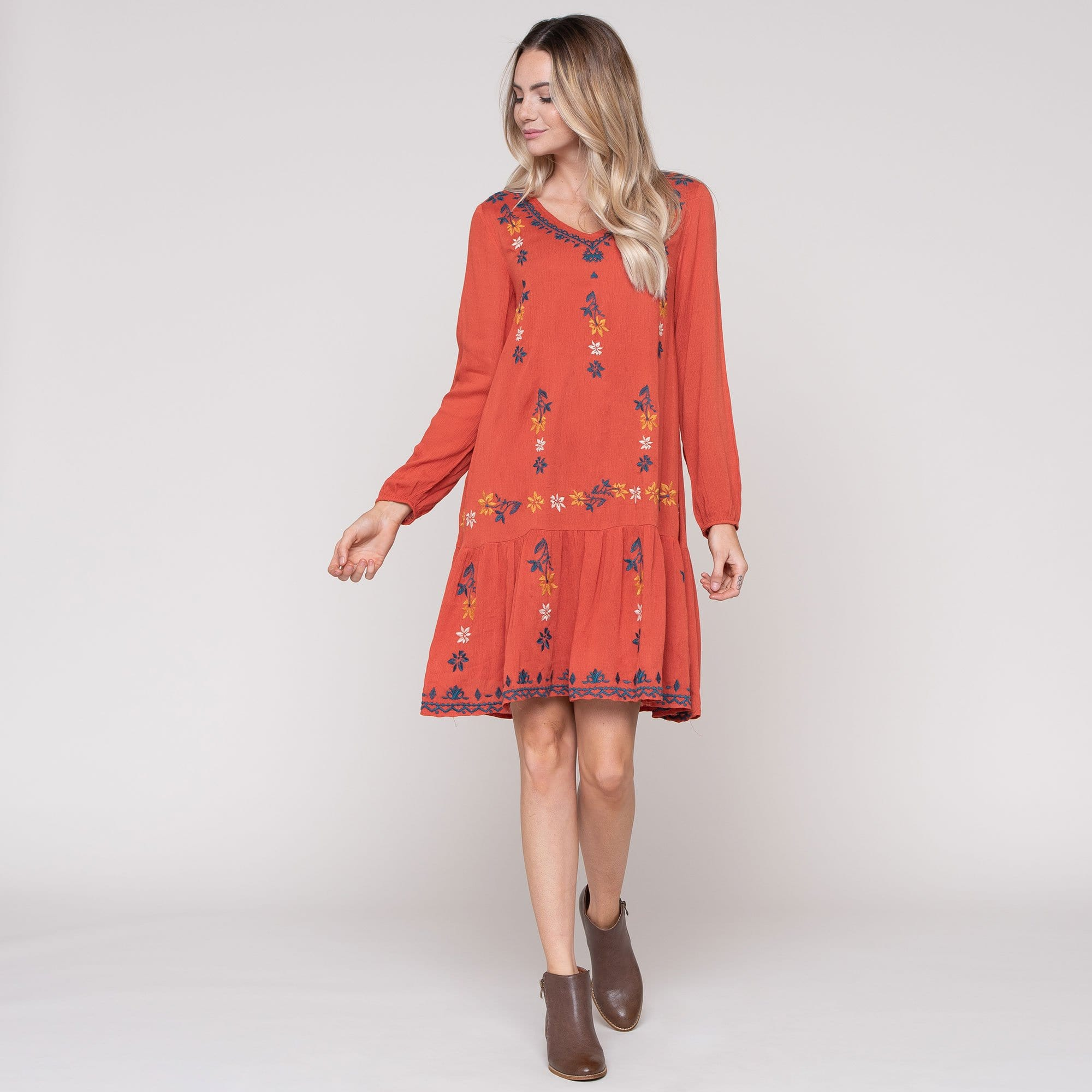 Sherwood Embroidered Dress