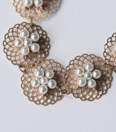 Pearl Filigree Necklace