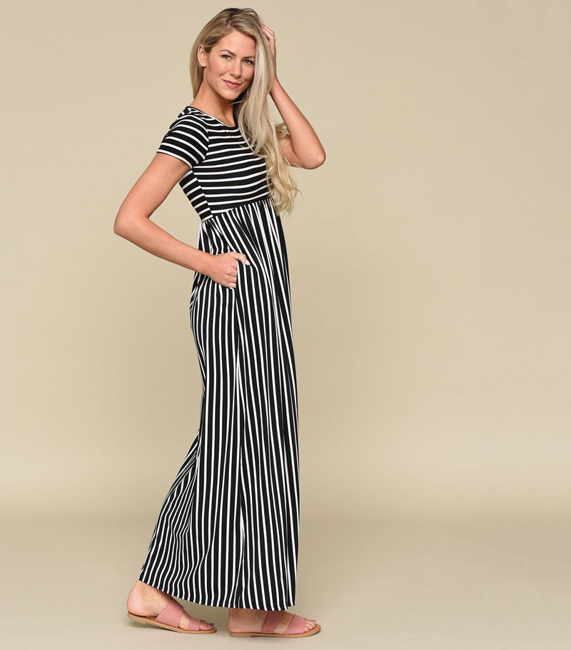 Perpendicular Maxi Dress