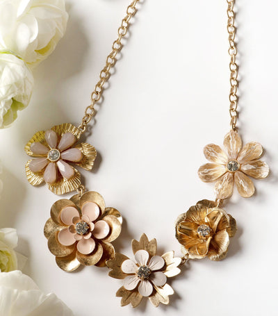 Pastel Petals Necklace