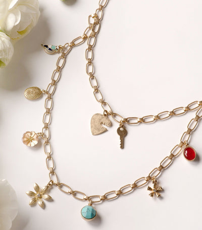 Garden Charm Necklace