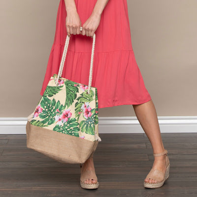 Tropical Canvas Bag