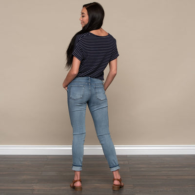 Essential Blue Skinny Jean by Kan Can