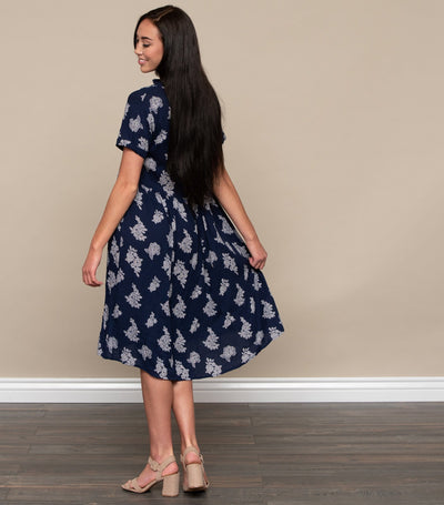 Button Front Day Dress