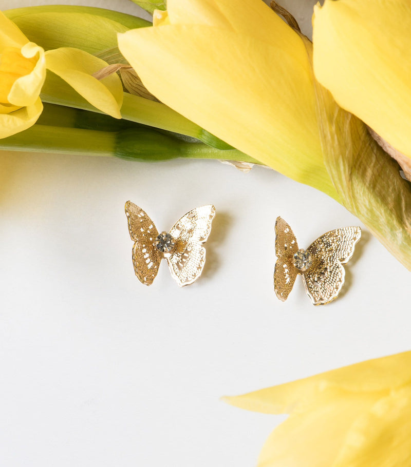 Filigree Butterfly Ear Jackets