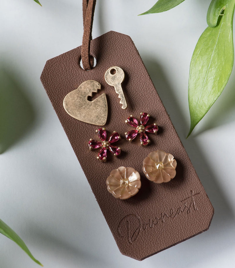Garden Charm Earring Set