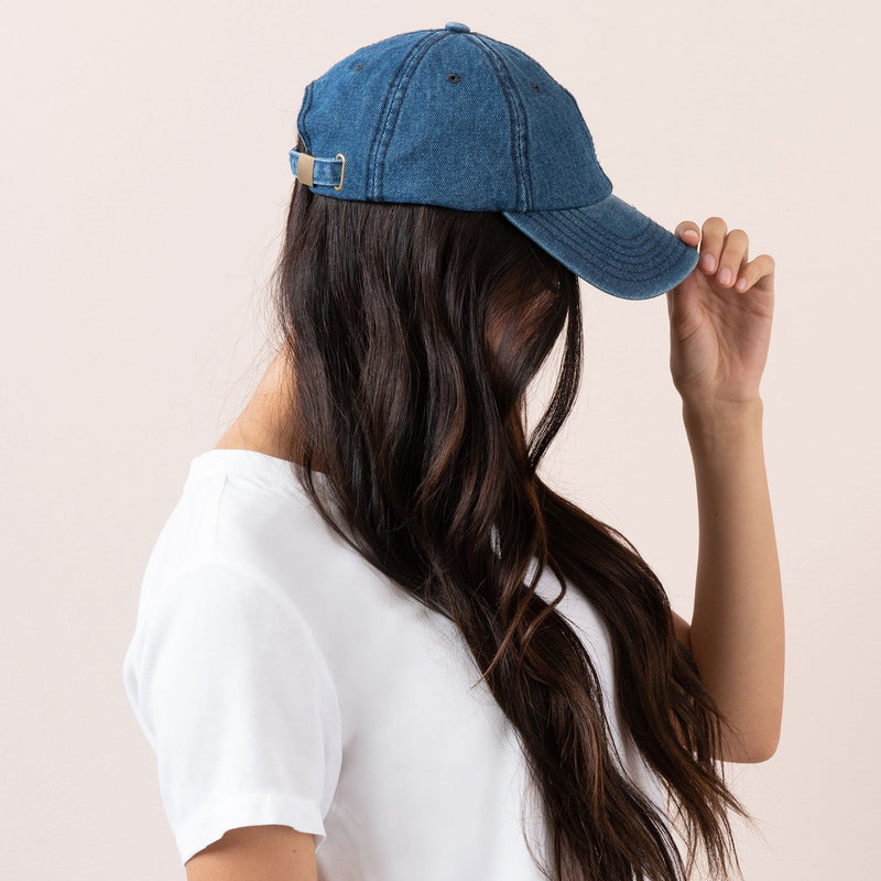 Denim Ball Cap