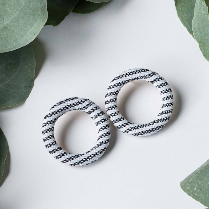 Happy Stone Hoops
