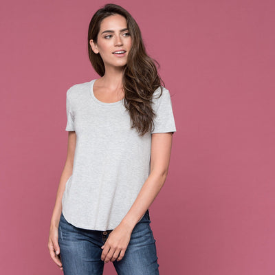 Everyday Scoop Neck Top