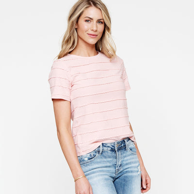 Scallop Stripe Tee