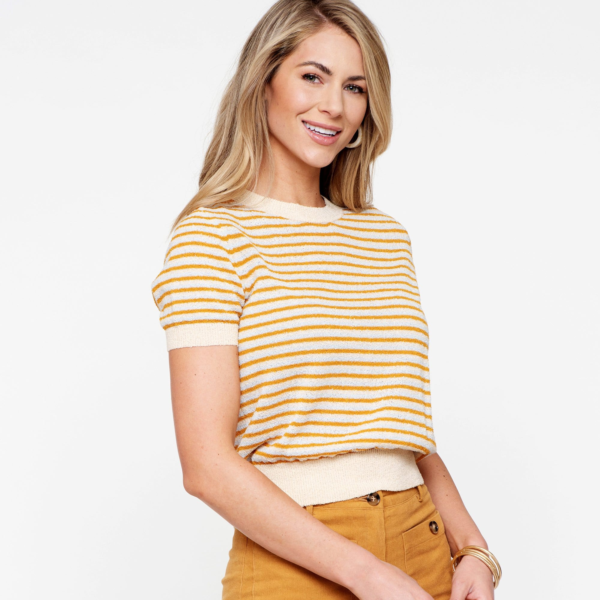 Monica Striped Sweater