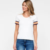 Stripe Trim Top