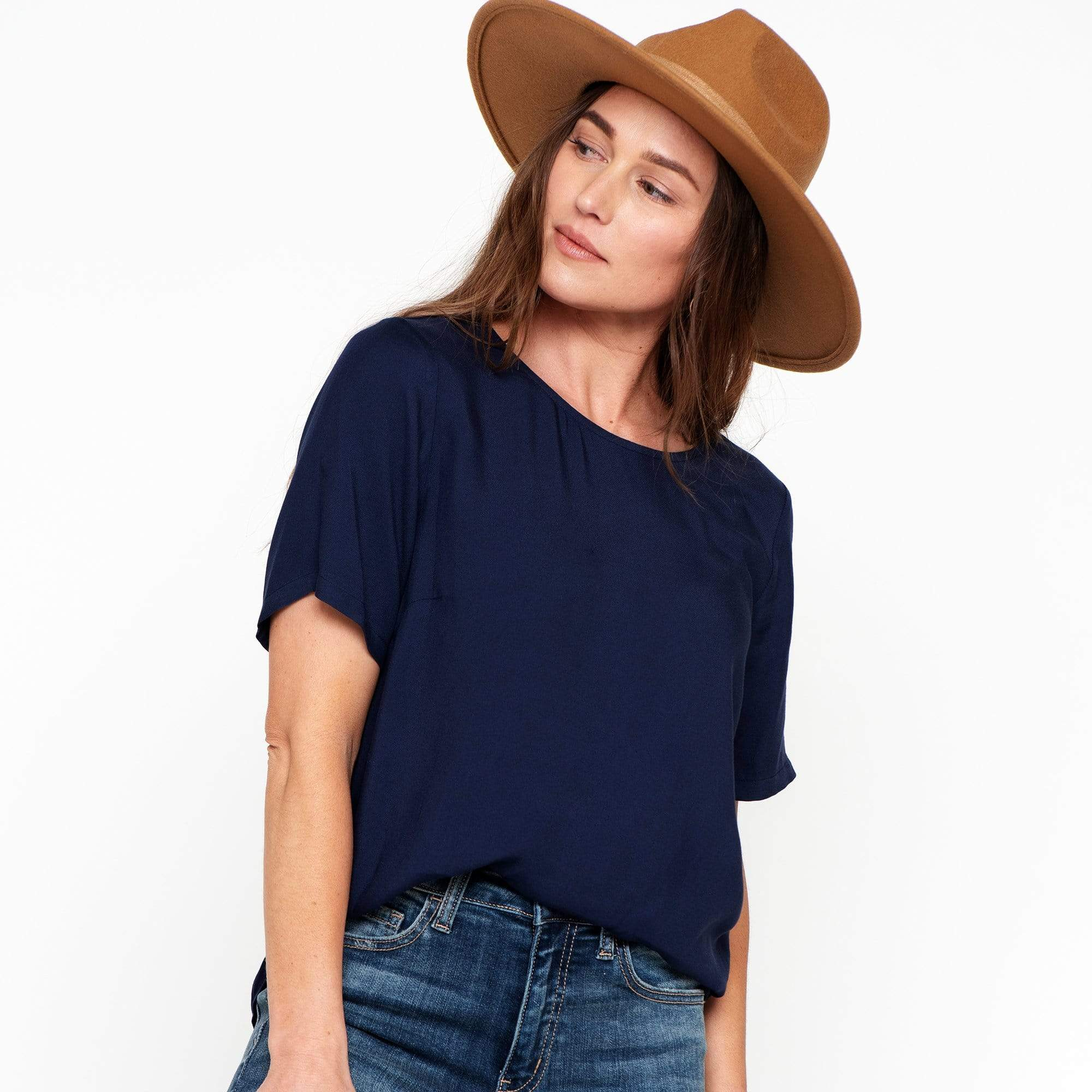 Jewel Neck Top