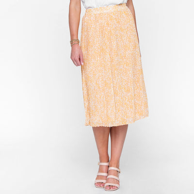 Raven Pleated Skirt