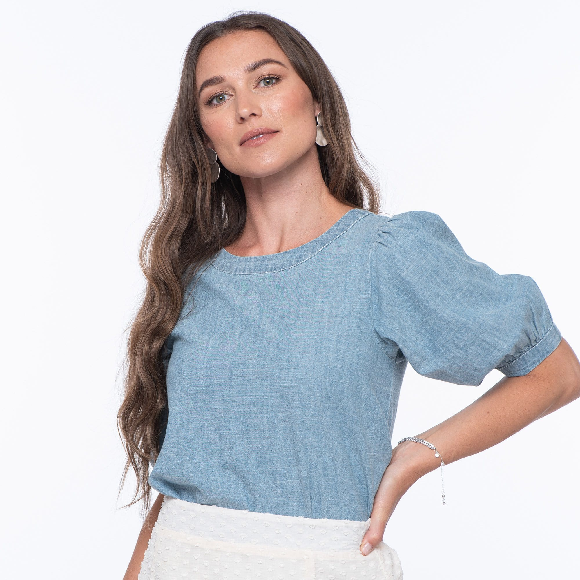 Chambray Dream Top