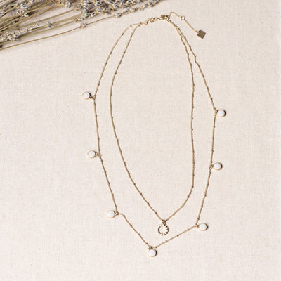 Jocelyn Double Layered Necklace