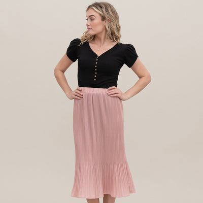 Pretty Pleated Skirt