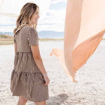 Dressed In Gingham Dress