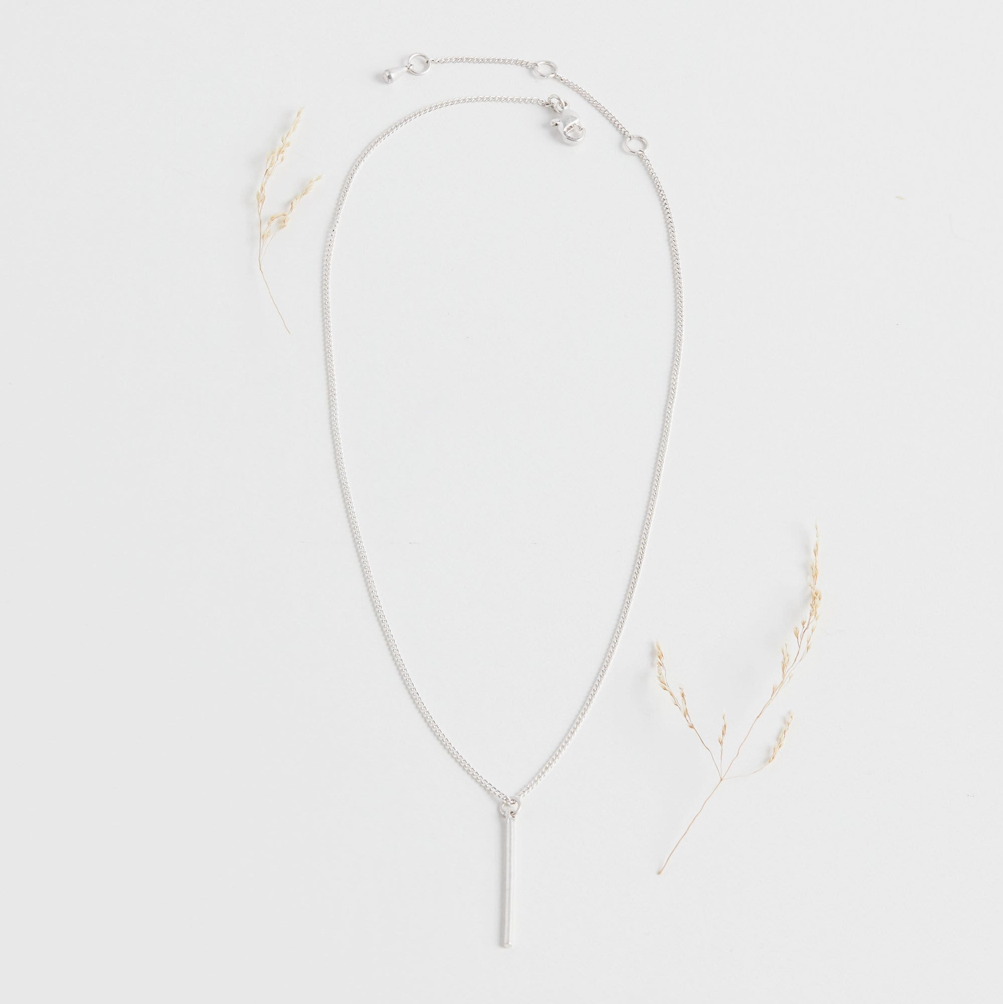 Vertical Rod Necklace