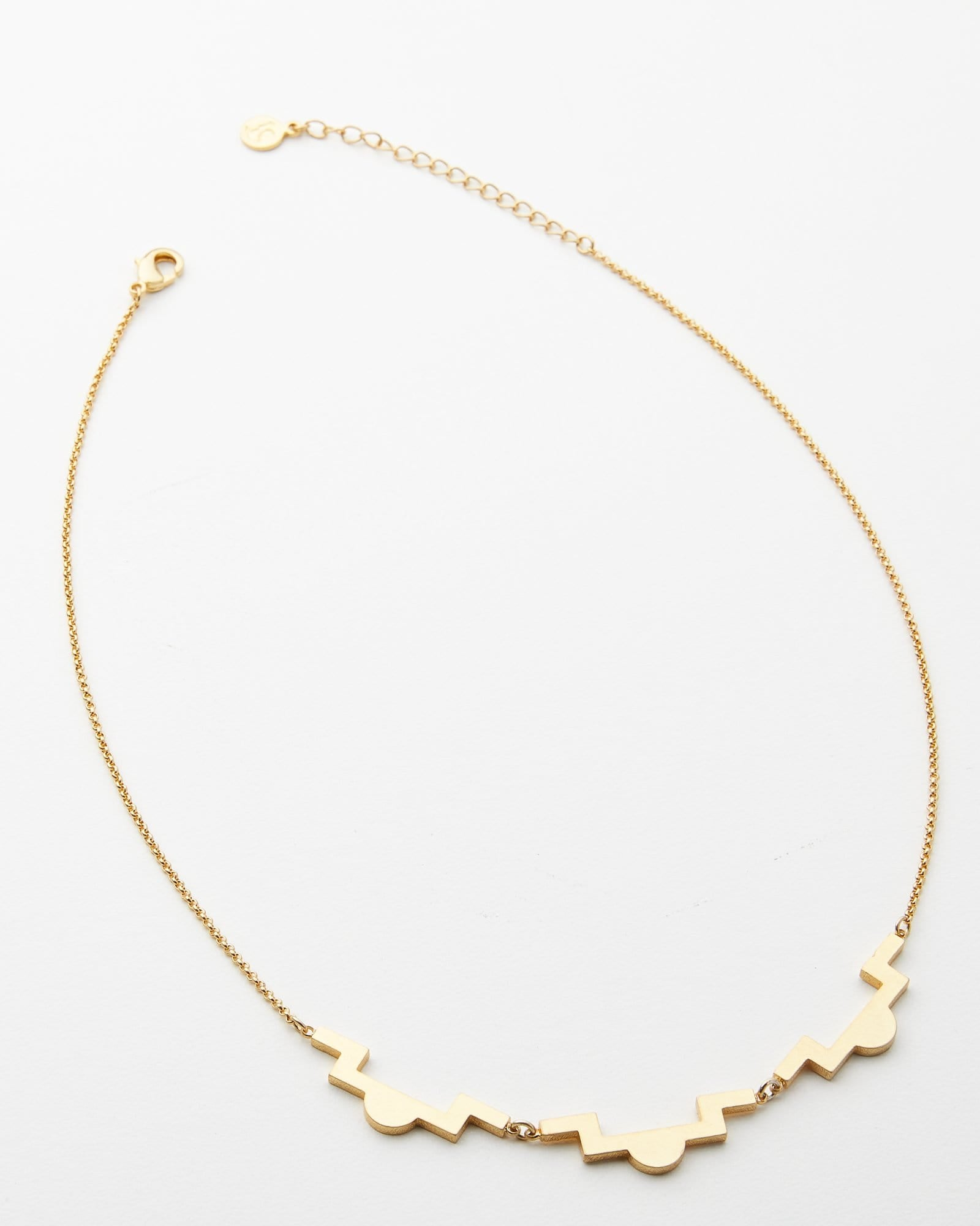 Brass Isa Necklace