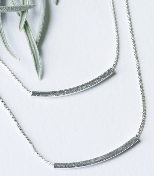 All Smiles Double Strand Necklace